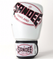 Sandee Cool-Tech Boxing Gloves White/Red